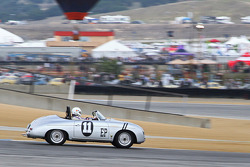 Jurgen Barth drives a 1958 356A Speedster