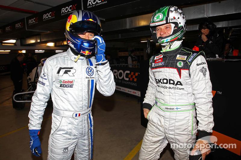 Sébastien Ogier and Juho Hanninen