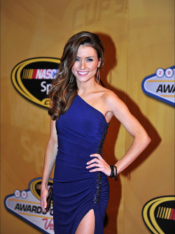 Jordan Fish, girlfriend of driver Denny Hamlin