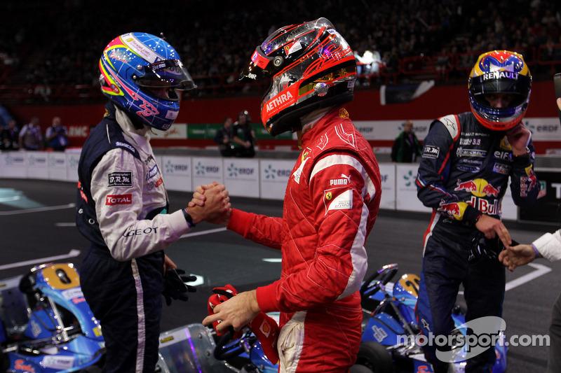 Winner Jules Bianchi, third place Stéphane Sarrazin