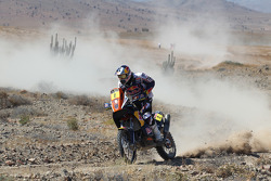 #2 KTM: Cyril Despres and #8 KTM: Ruben Faria