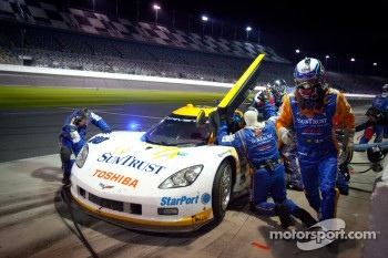 #10 SunTrust Racing Chevrolet Corvette DP: Max Angelelli, Ricky Taylor, Ryan Briscoe