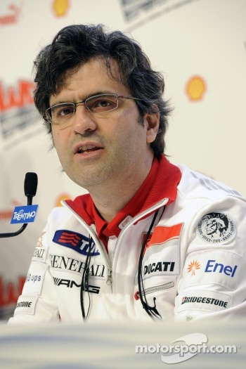 Filippo Preziosi, Ducati Corse General Manager