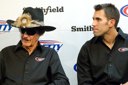 Richard Petty Motorsports press conference: Richard Petty and Aric Almirola