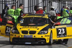 #23 Black Falcon BMW M3 GT4: Christian von Rieff, Christian Raubach, Steve Jans, Michel Pfluger, Manuel Metzger