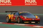 #12 AUH Motorsports/FF Corse Ferrari 458 Italia GT3: Leon Price, Rob Barff, Jordan Grogor, Charles Hollings