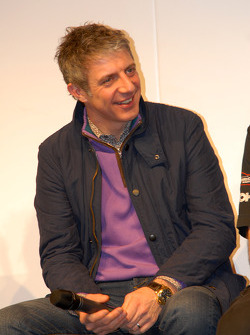 Jason Plato on the Autosport Stage
