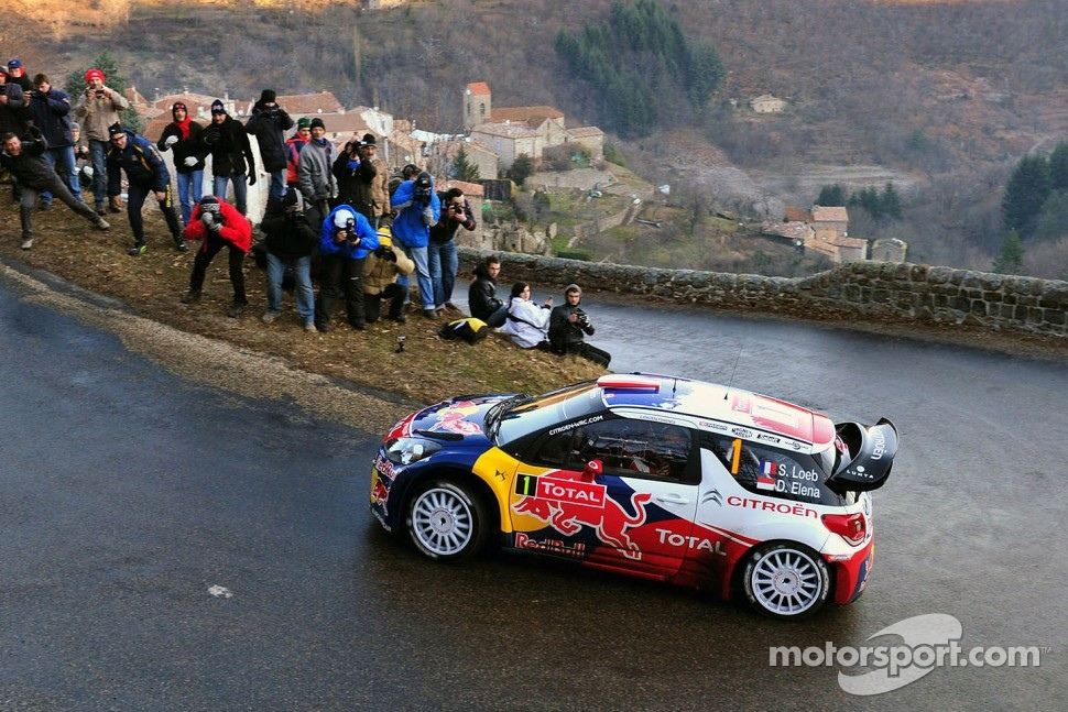 Sébastien Loeb and Daniel Elena, CitroÃ«n DS3 WRC, CitroÃ«n Total World Rally Team