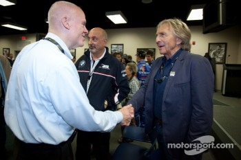 Rolex 24 At Daytona Champions photoshoot: Rob Dyson and Derek Bell