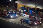 PIt stop for #02 Chip Ganassi Racing with Felix Sabates BMW Riley: Scott Dixon, Dario Franchitti, Jamie McMurray, Juan Pablo Montoya and #01 Chip Ganassi Racing with Felix Sabates BMW Riley: Joey Hand, Scott Pruett, Graham Rahal, Memo Rojas