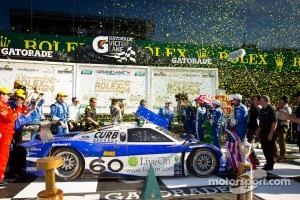 2012 Rolex 24 over all winner: #60 Michael Shank Racing with Curb-Agajanian Ford Riley