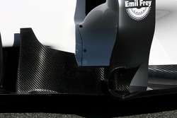 Technical detail body work - Sauber C31 Ferrari Launch