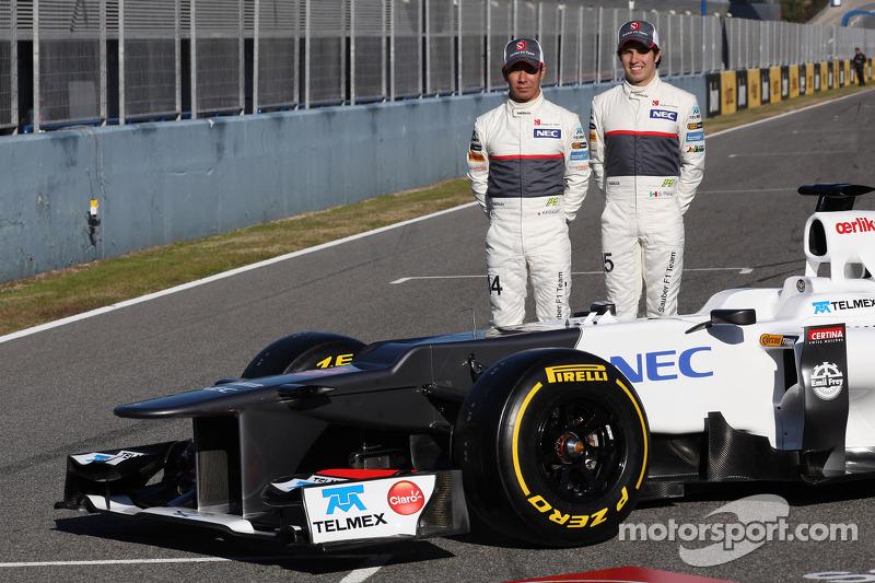 Kamui Kobayashi, Sauber F1 Team with Sergio Perez, Sauber F1 Team