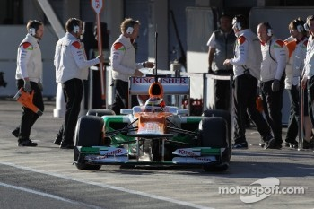 Jules Bianchi, Sahara Force India Formula One Team, test driver