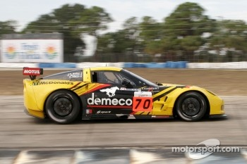 #70 Larbre Competition Chevrolet Corvette C6R: Christophe Bourret, Pascal Gibson