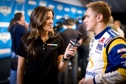 Ex-Miss Sprint Cup Monica Palumbo and Parker Kligerman
