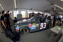 Car of David Reutimann, BK Racing Toyota at technical inspection