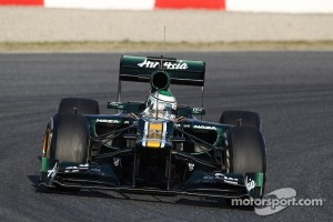 Early spin for Kovalainen and only 31 laps completed today