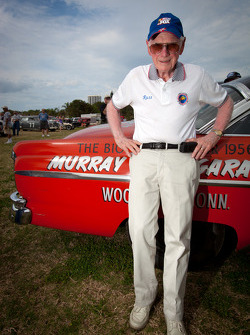 Living legends of auto racing street parade: Russ Truelove