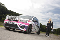 Louise Cook enrolled for Colin McRae Vision Junior Programme
