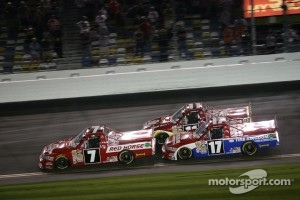 John King, Red Horse Racing Toyota, Timothy Peters, Red Horse Racing Toyota and Todd Bodine, Red Horse Racing Toyota