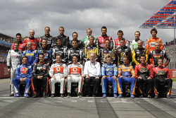 The 2012 drivers photoshoot