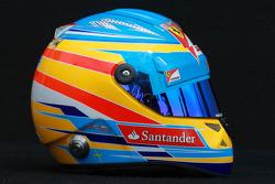 Fernando Alonso, Scuderia Ferrari helmet