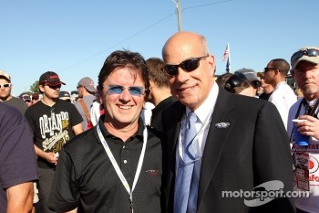 Wayne Taylor and Scott Atherton, ALMS President
