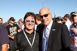 Wayne Taylor and Scott Atherton, ALMS President