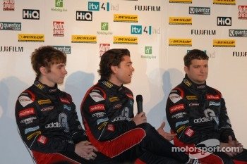 Redstone Racing Drivers Aron Smith, Liam Griffin and Mat Jackson