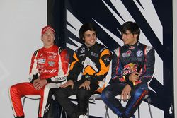 Spike Goddard, Pietro Fantin, Carlos Sainz Jr.