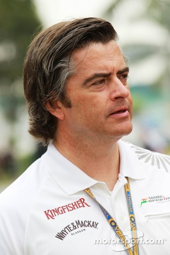 Andy Stevenson, Sahara Force India F1 Team Manager