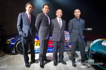Michael Kim, Ken Kobayashi, Mikio Hitotsuyama and Hideki Noda