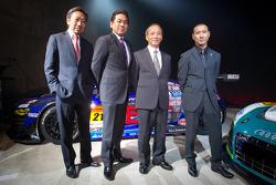 Michael Kim, Ken Kobayashi, Mikio Hitotsuyama and Hideki Noda