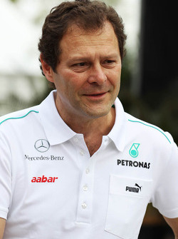 Aldo Costa, Mercedes GP Engineering Director