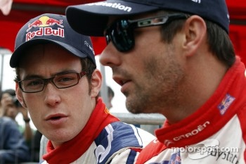 Sébastien Loeb, Citroën Total World Rally Team and Thierry Neuville, Citroën Junior World Rally Team