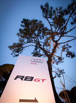 Audi Korea Audi R8 GT Spyder event