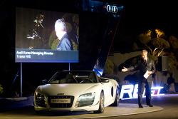 Audi Korea Audi R8 GT Spyder presentation with Audi Korea Managing Director Trevor HIll