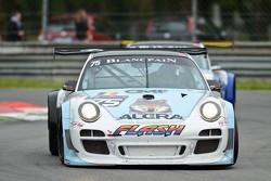 #75 ProSpeed Competition Porsche 997 GT3: Marc Goossens, Xavier Maassen, Marc Hennerici