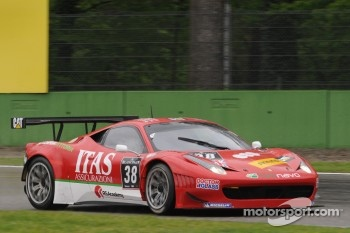 #38 Scuderia Vittoria Ferrari 458 Italia: Jay Palmer, Alessandro Bonetti, Michael Lyons