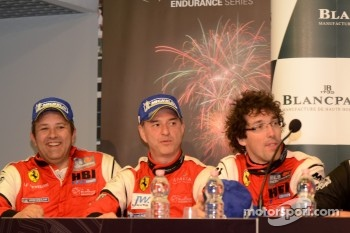 3rd place in Pro-Am: Jean-Luc Beaubelique, Ludovic Badey, Patrice Goueslard
