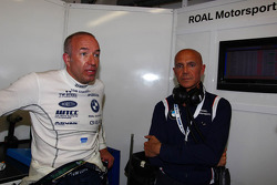 Tom Coronel, BMW 320 TC, ROAL Motorsport and Aldo Preo