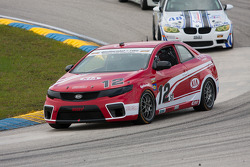 #12 Kinetic/Kia Racing KIA Forte Koup: Mathew Pombo, Marc Pombo