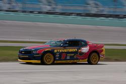 #9 Stevenson Motorsports Camaro GS.R: Matt Bell, Robin Liddell