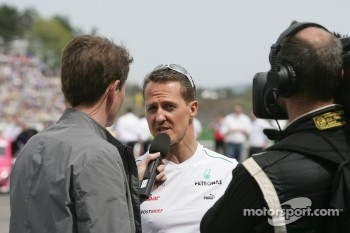 Michael Schumacher, Mercedes Grand Prix