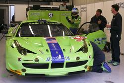 #57 Krohn Racing Ferrari F458 Italia: Tracy Krohn, Niclas Jönsson, Michele Rugolo