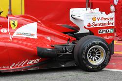 Fernando Alonso, Scuderia Ferrari rear exhaust system