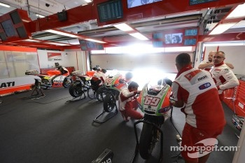 Ducati Marlboro Team area