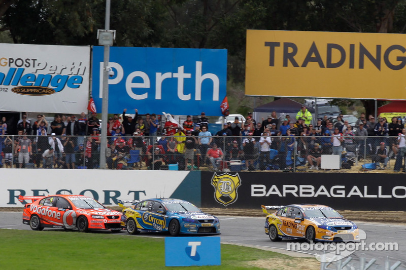 Will Davison and Mark Winterbottom lead Jamie Whincup