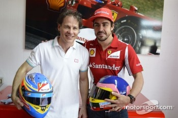 Jacques Villeneuve and Fernando Alonso